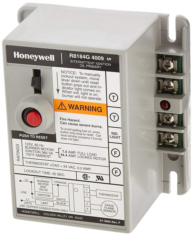 honeywell r8184g4009 international oil burner control household furnace accessories amazon com