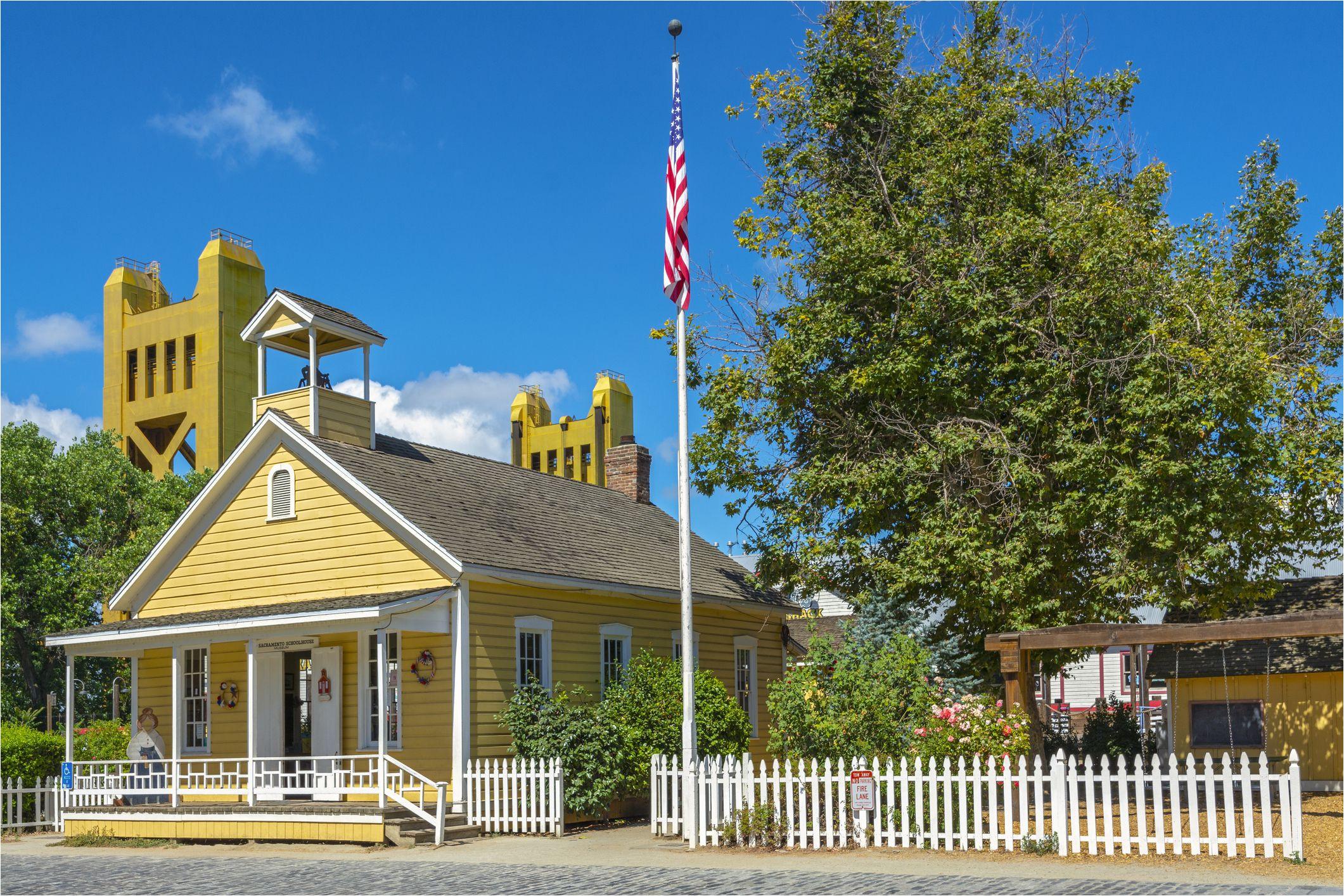 old sacramento schoolhouse museum