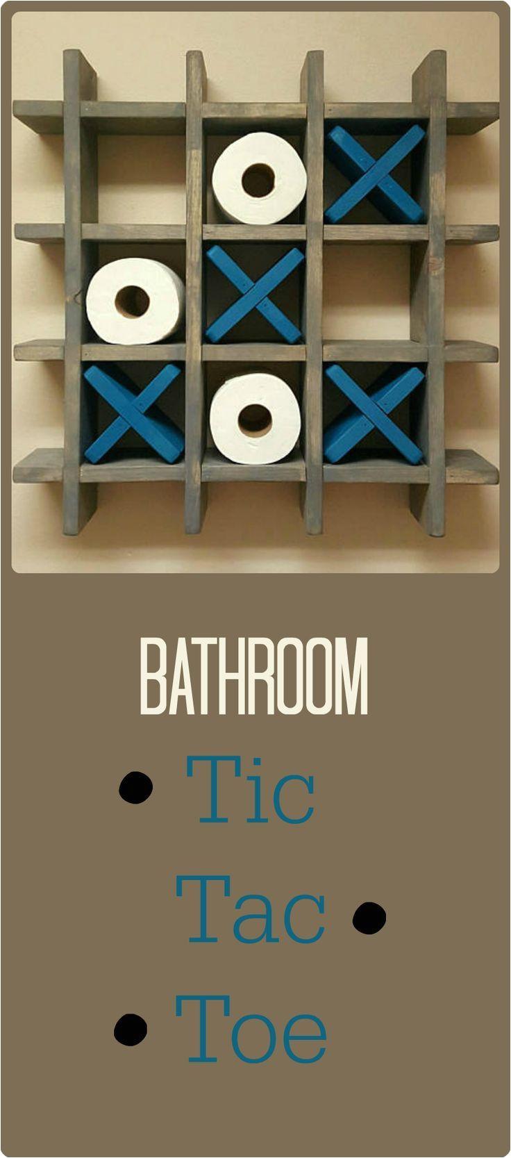 bathroom tic tac toe made to order toilet paper holder toilet paper tic tac toe pallet wall art floating shelf decor farmhouse