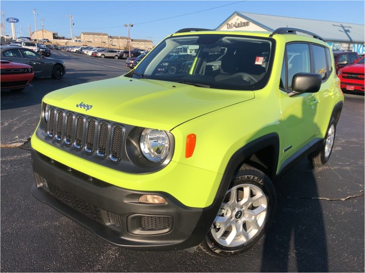 new 2018 jeep renegade in branson mo