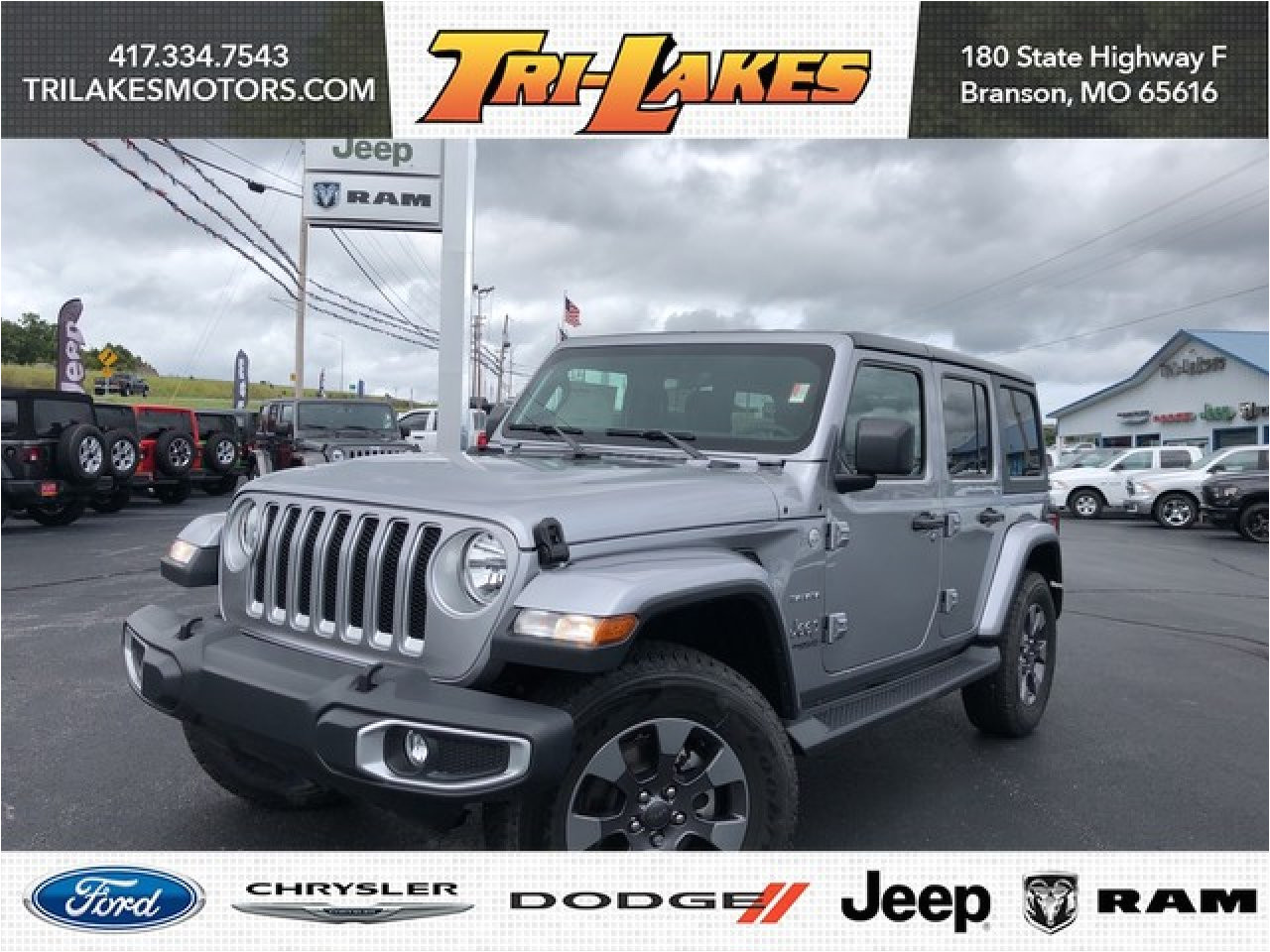 new 2018 jeep wrangler unlimited in branson mo