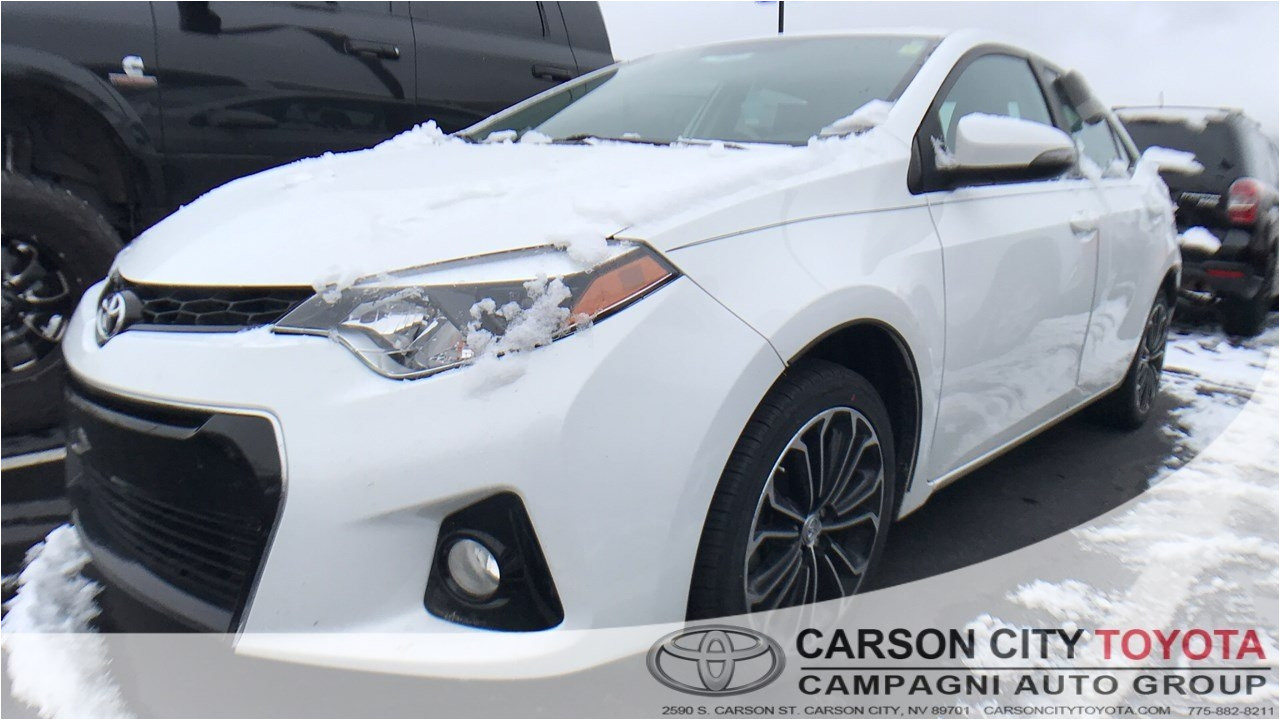 Tires Plus total Car Care Carson City Nv Used One Owner 2015 toyota Corolla S Plus Near Virginia City Nv