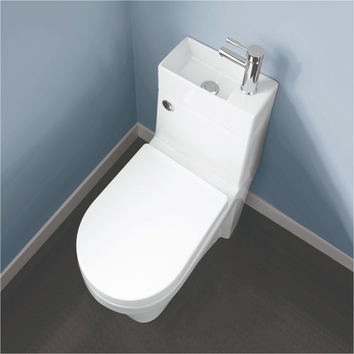 bathroom supastore two in one combination close coupled toilet with wash basin amazon co uk kitchen home
