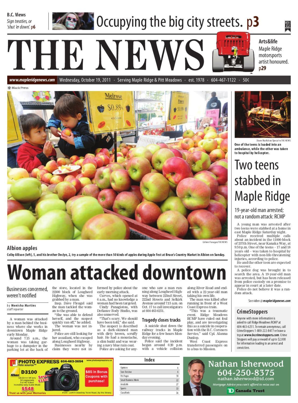 maple ridge pitt meadows news october 19 2011 online edition by maple ridge news issuu