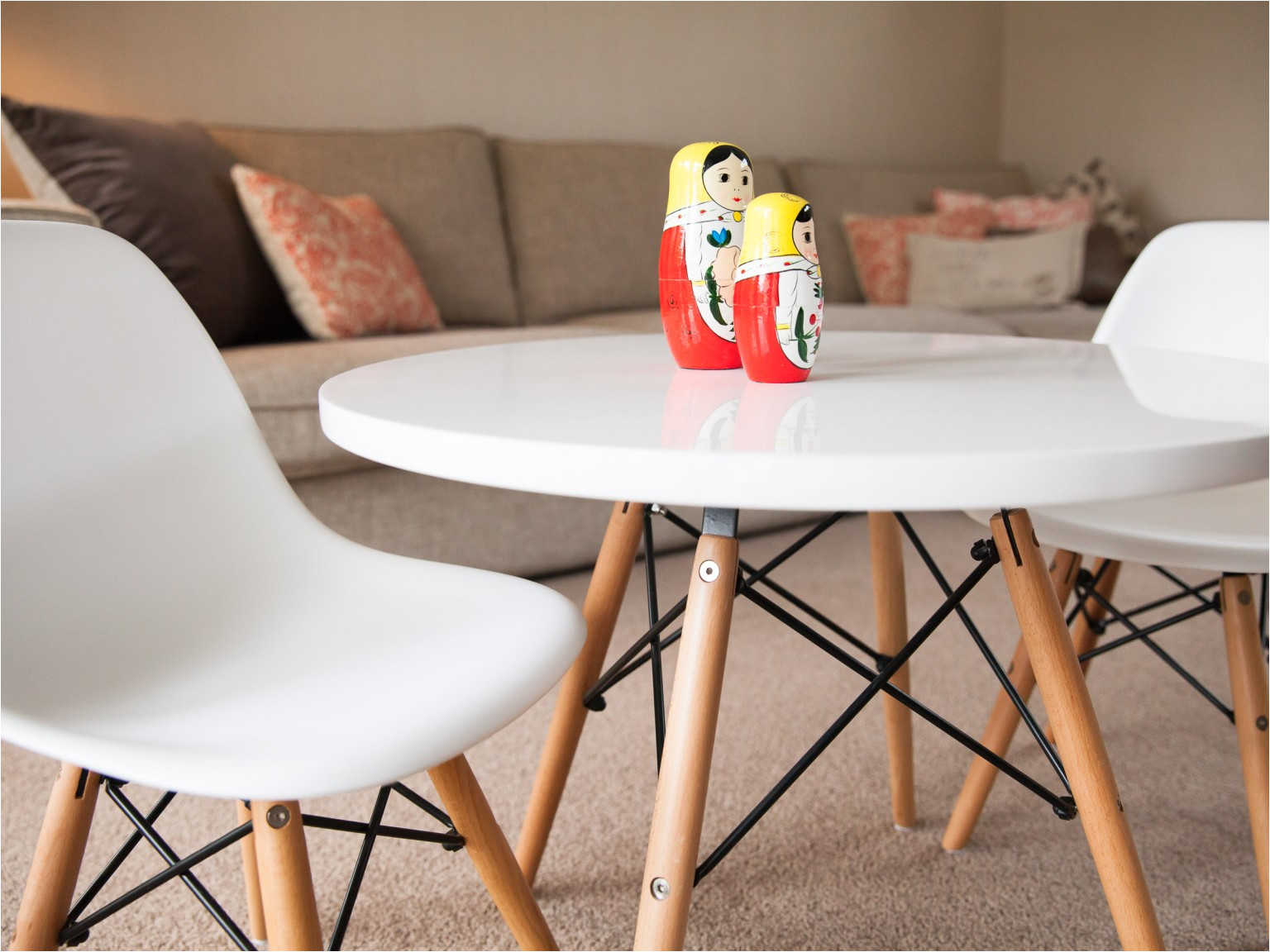 mocka belle kids table with belle kids chairs