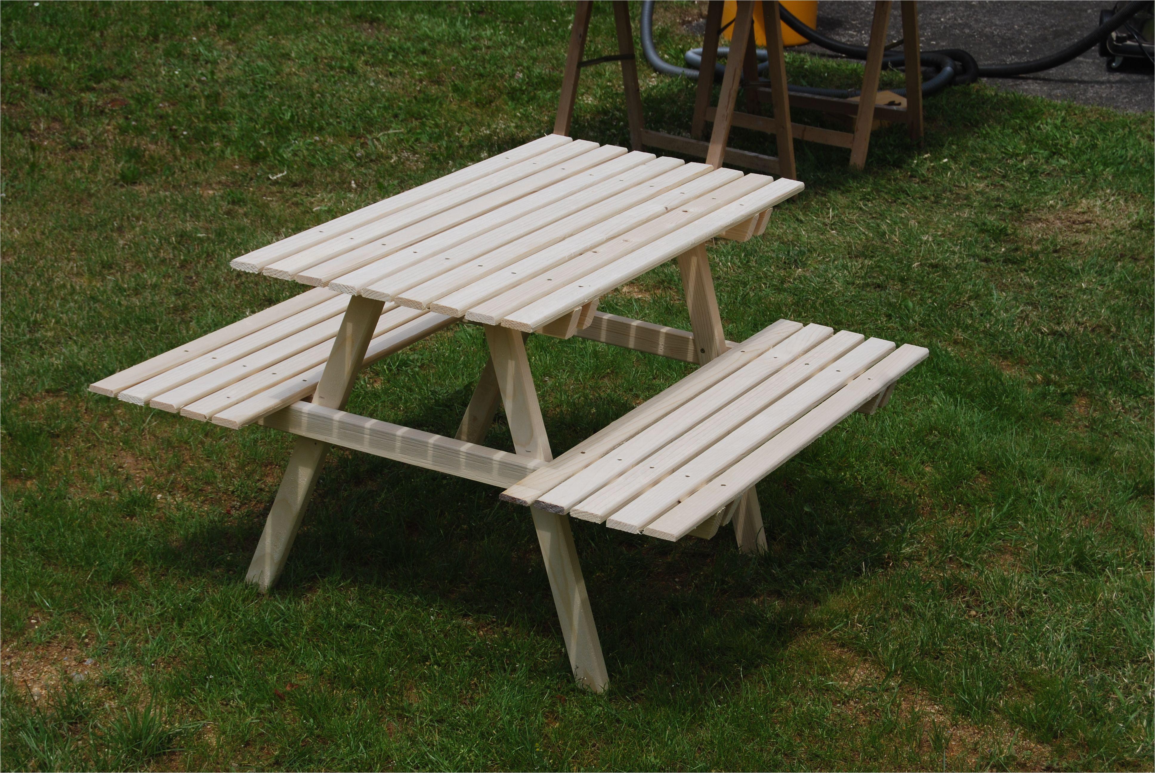 picknicktisch fur kinder gartentisch bauanleitung zum selber
