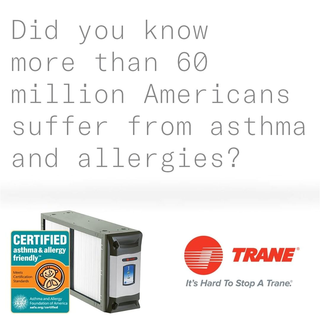 tranetuesday the trane cleaneffectsa has been certified asthma and allergy friendly by the aafa learn how this unstoppable trane system can help