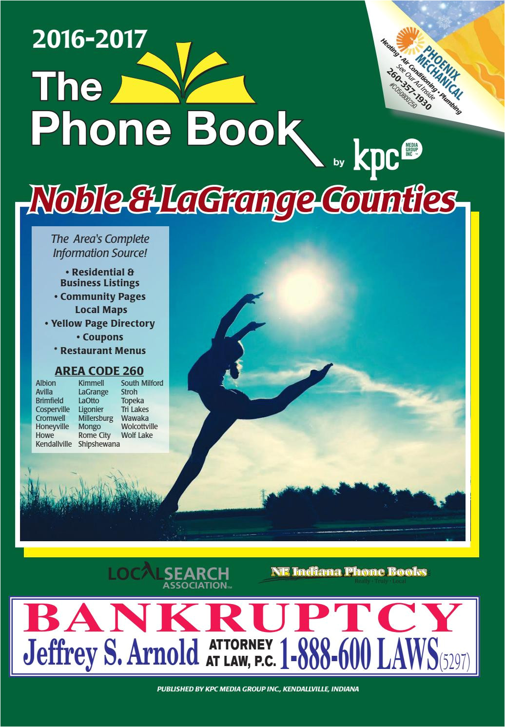 2016 2017 phone book noble and lagrange counties by kpc media group issuu