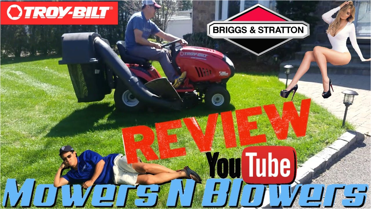troy bilt super bronco 21hp briggs 42 riding lawn tractor mower purchase transport test review