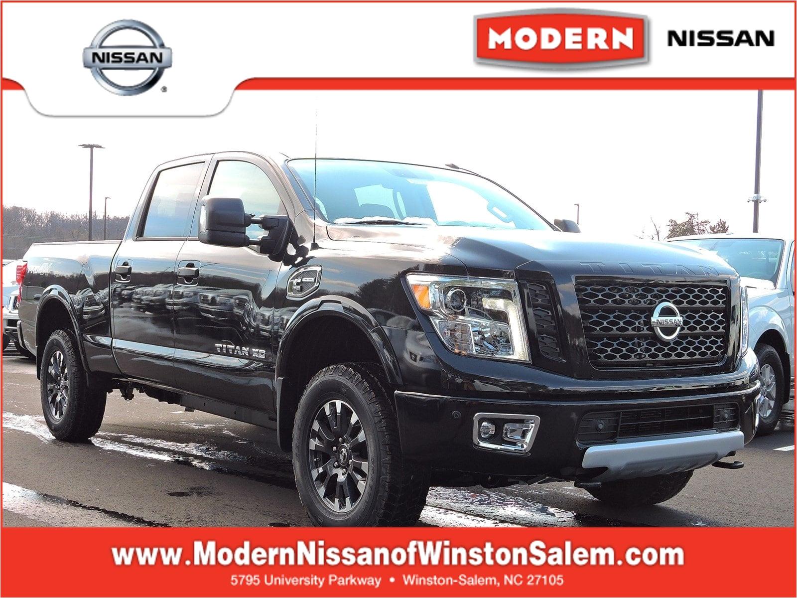 2018 nissan titan xd pro 4x truck crew cab