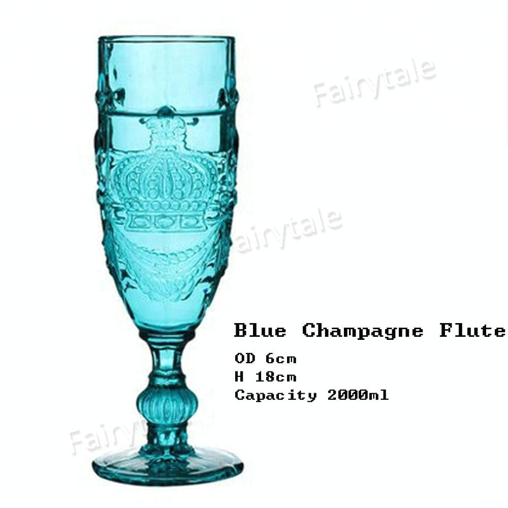 true blue glass colored old fashion stemmed jpg