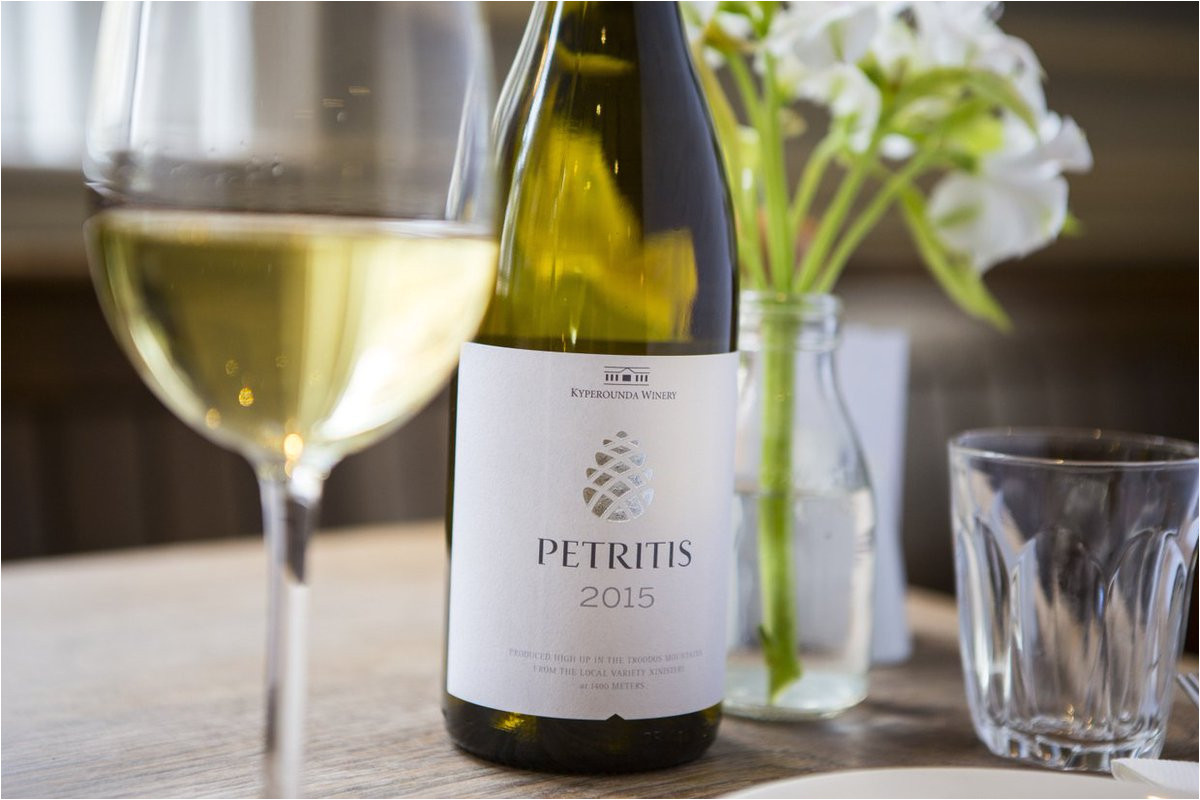 the best example of xynisteri showing its true potential is the top selling petrides a full on strongly mineral wine imported into the uk by hallgarten