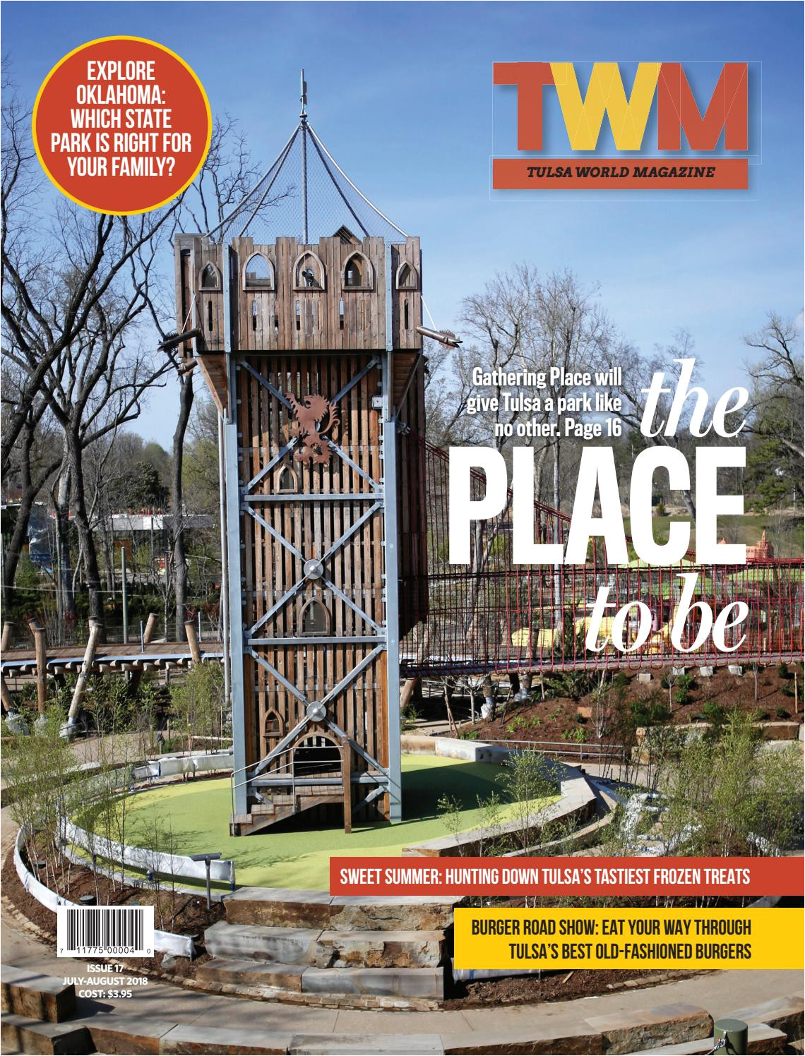 tulsa world magazine the ultimate guide to gathering place by tulsa world issuu