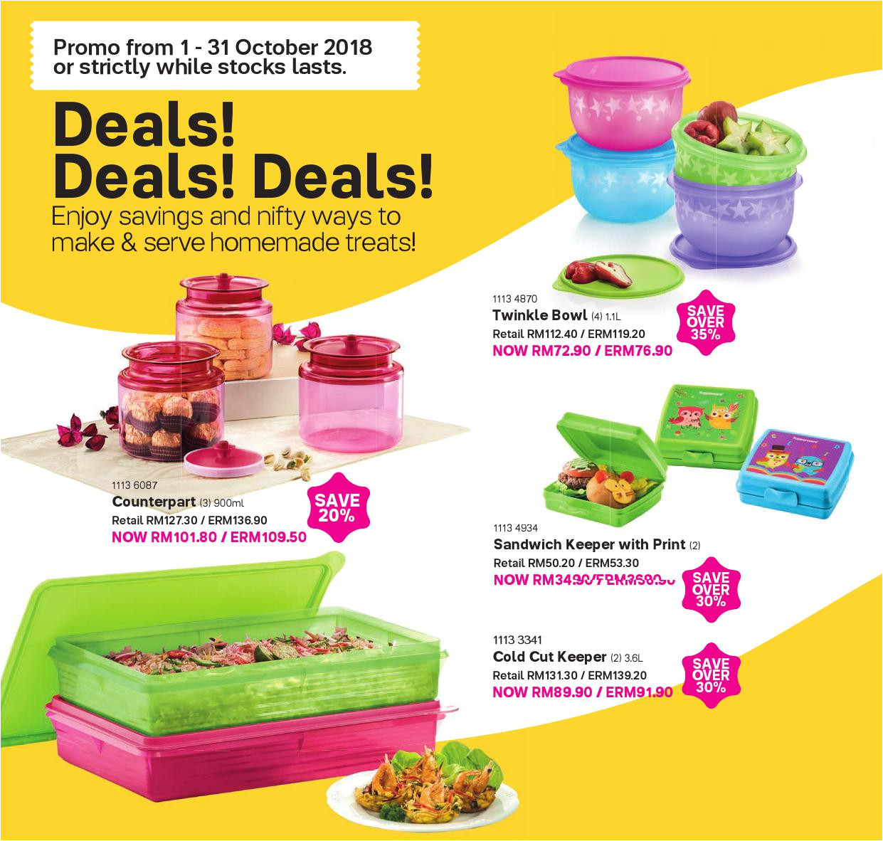 tupperware catalogue 01 oct 2018 11 nov 2018 page 30