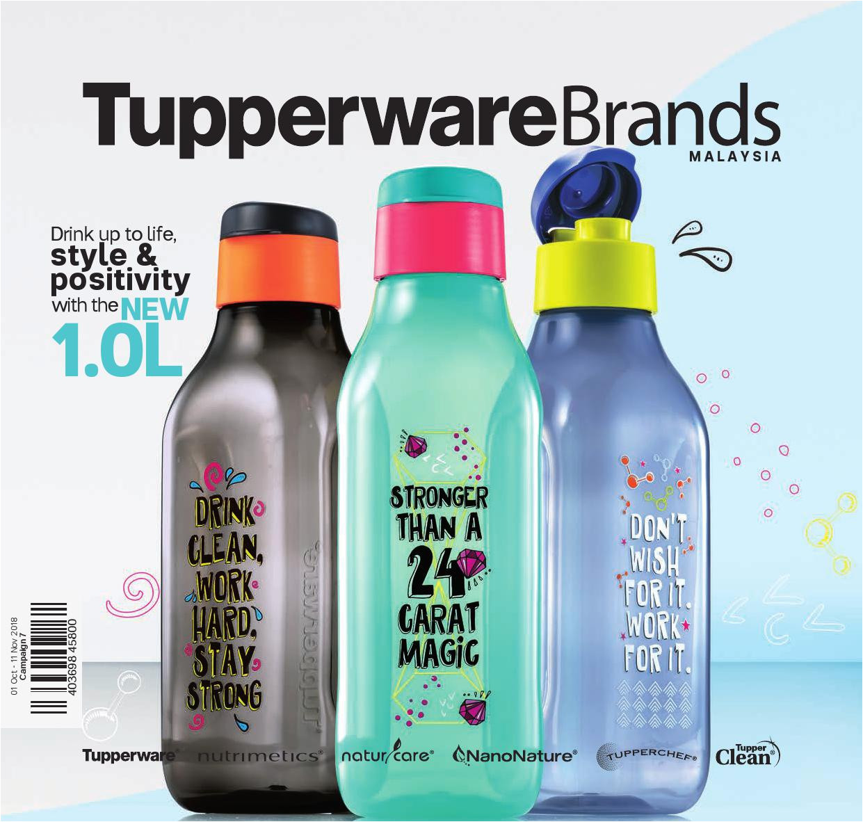 tupperware catalogue 01 oct 2018 11 nov 2018 page 1