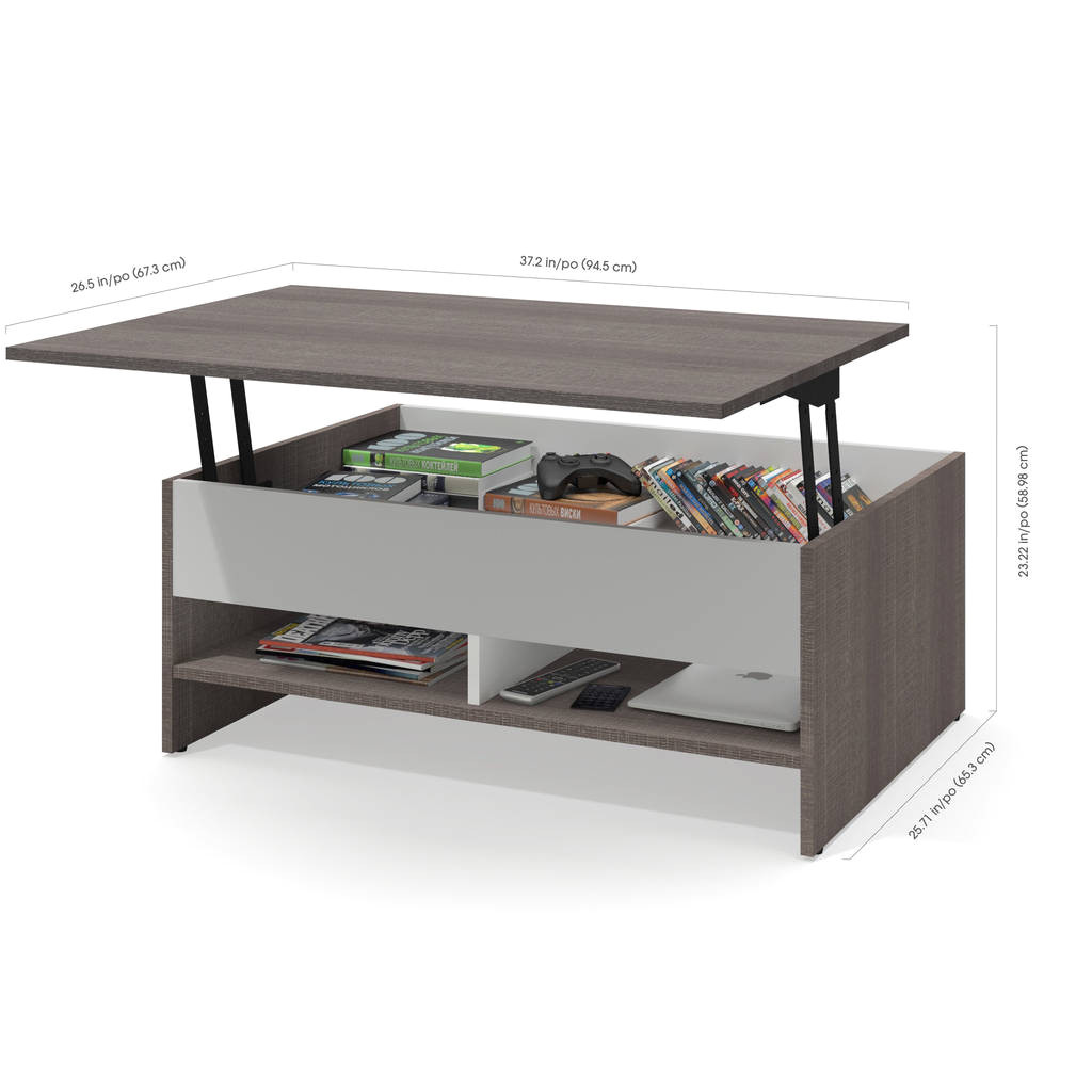 tv lift cabinet for end of bed fresh shop bestar small space 2 piece lift top