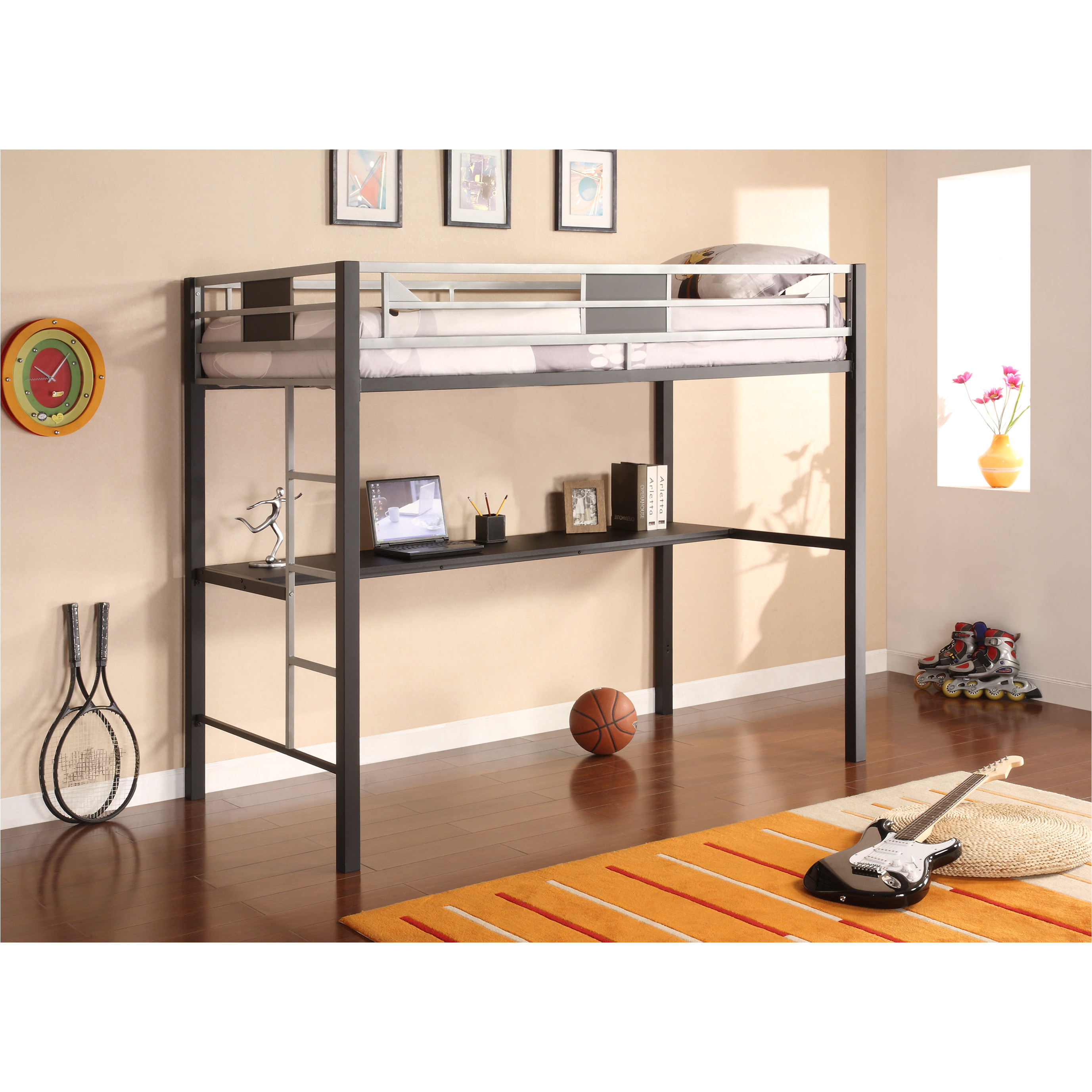 boys loft bed with desk inspirational bedroom loft with closet underneath plans desk and for bunk