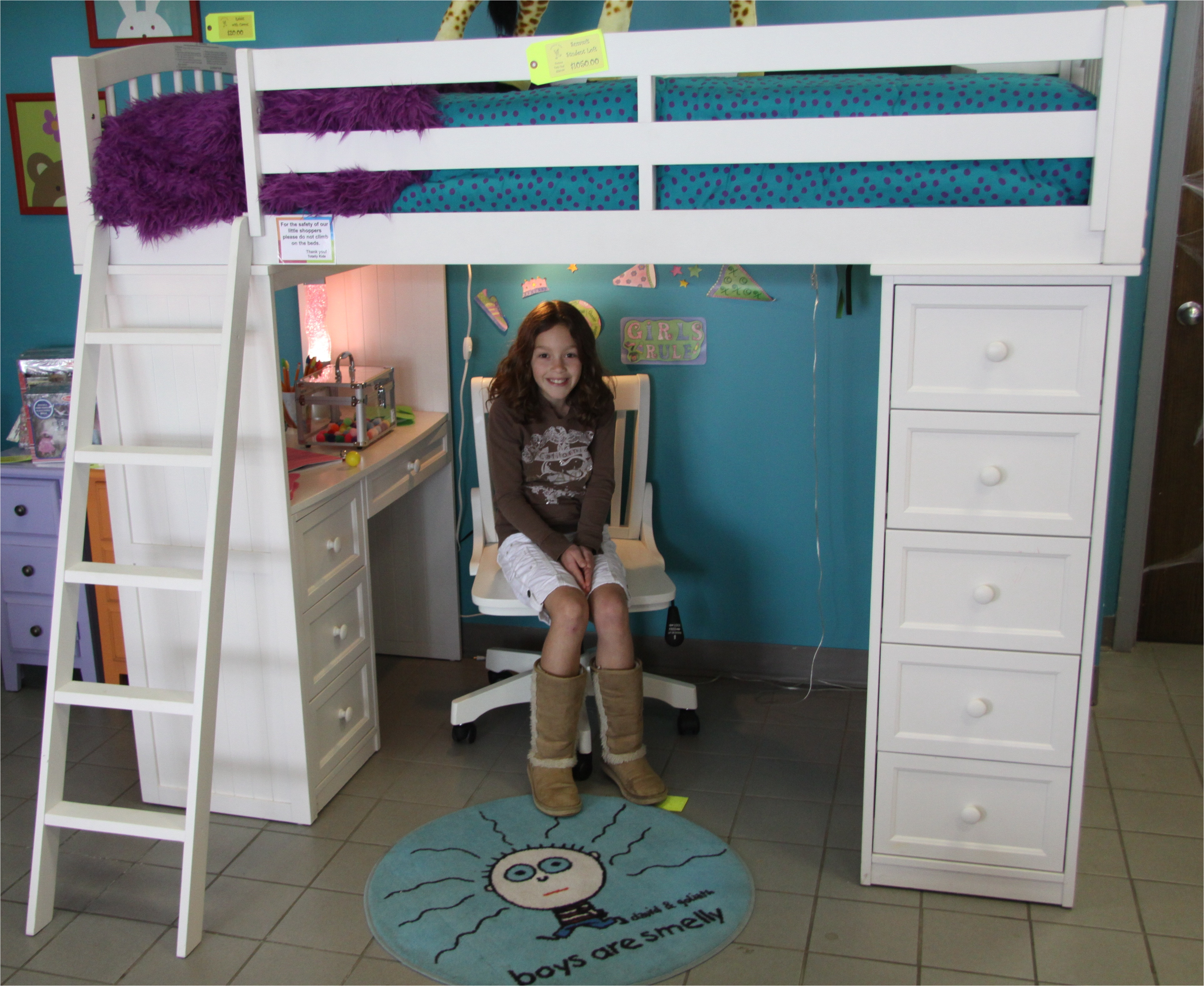 twin metal loft bed with desk and shelving beautiful table fancy bed with desk under it