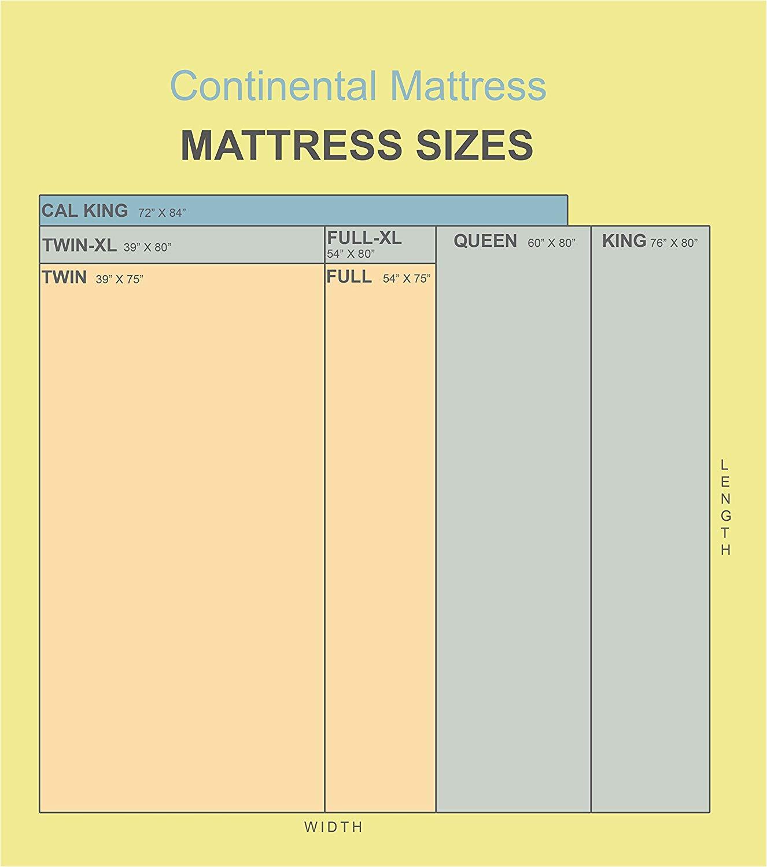 amazon com continental mattress 301bf 3 3xl 2 twin xl kitchen dining