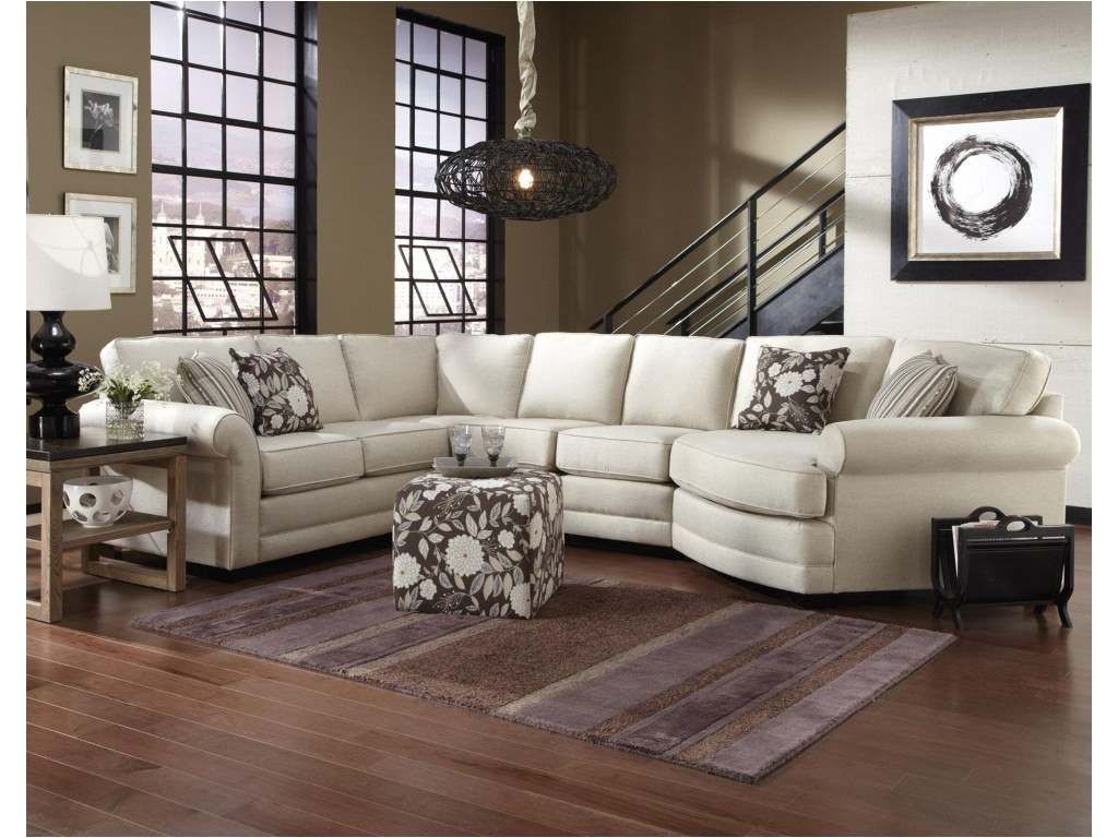 england sectional brantley 5 seat sofa with cuddler dunk bright jpg