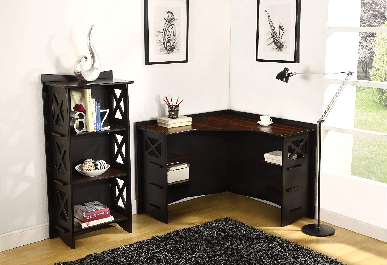 amazon com legare cottage bookcase 48 by 22 inch ebony walnut kitchen dining