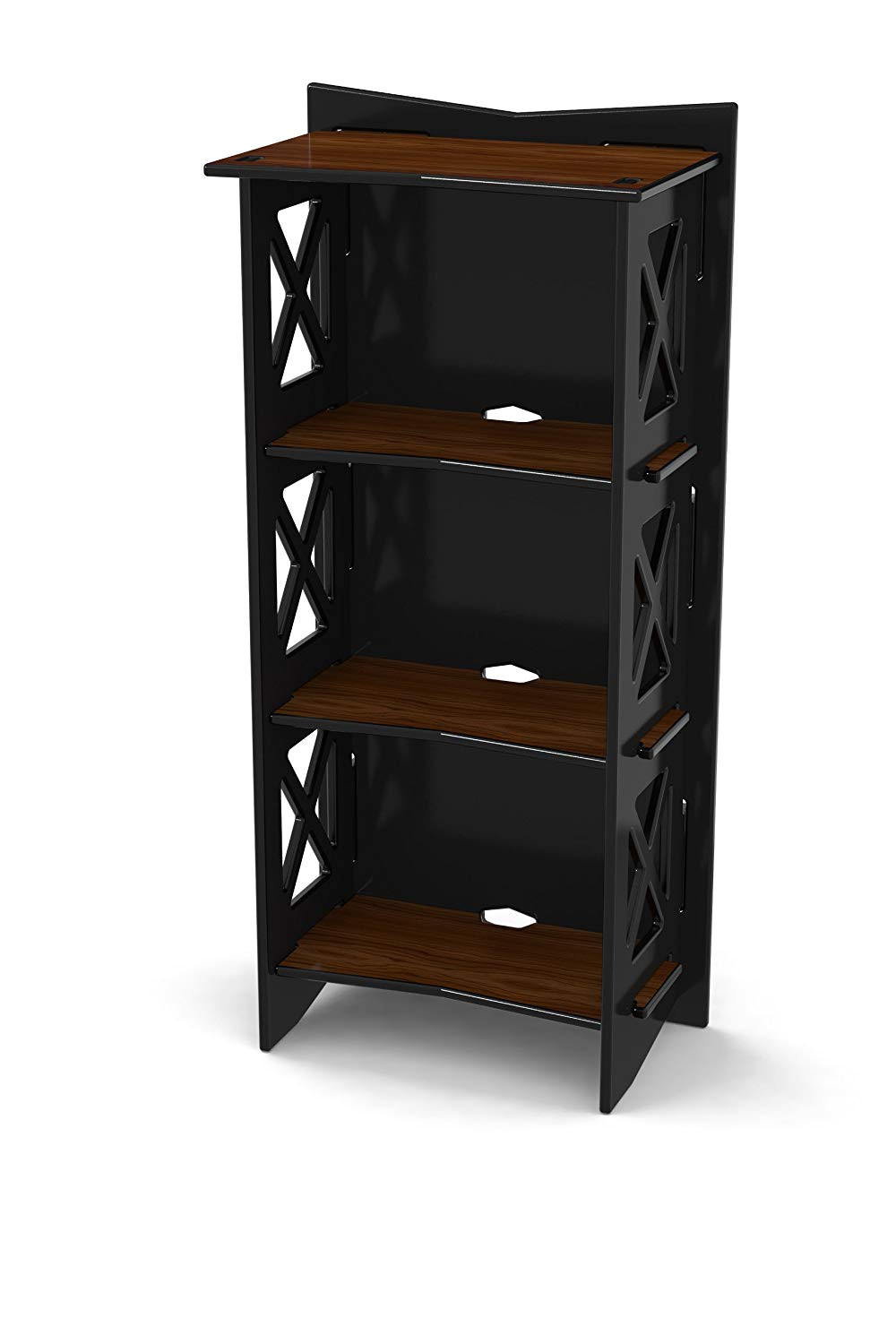 amazon com legare cottage bookcase 48 by 22 inch ebony walnut kitchen dining