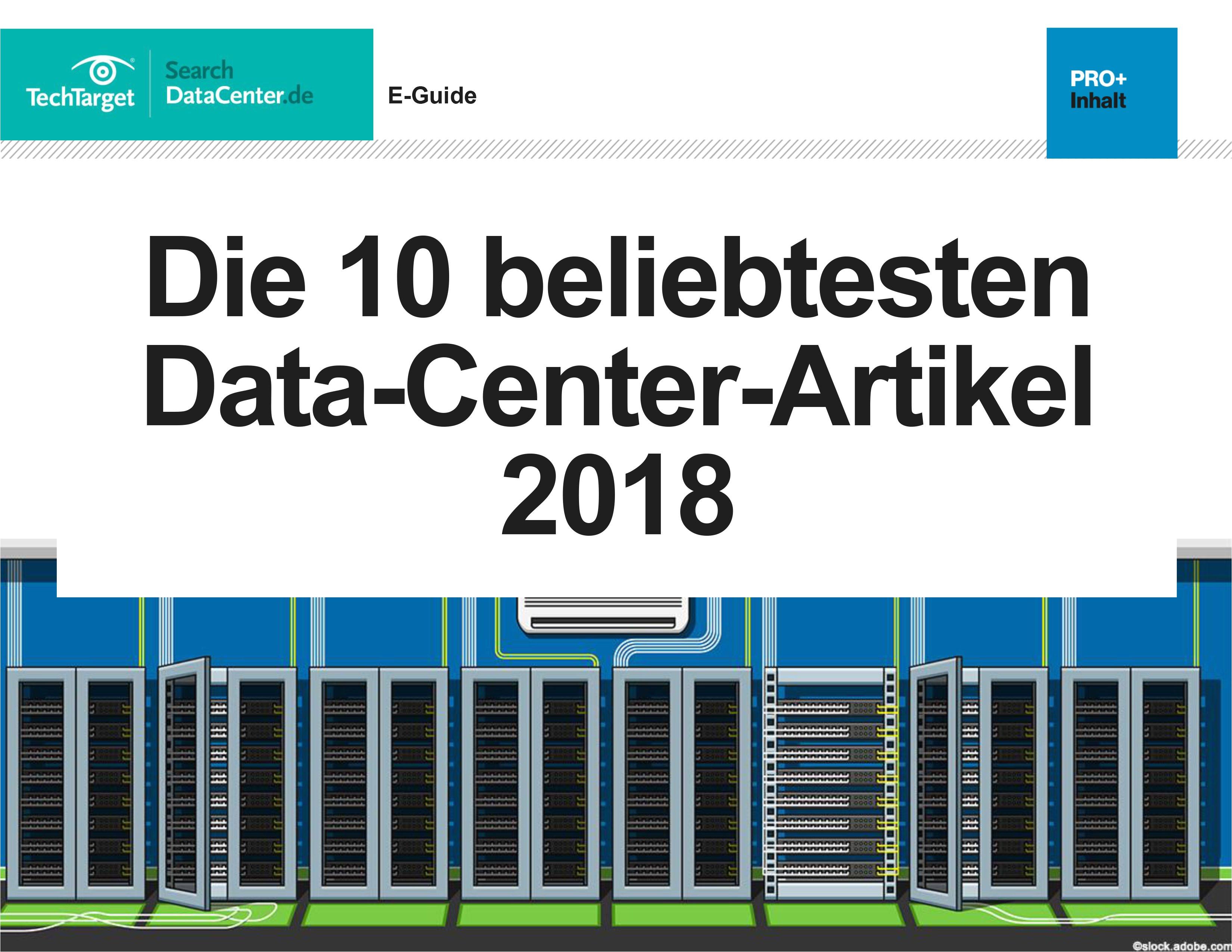 die 10 beliebtesten data center artikel 2018