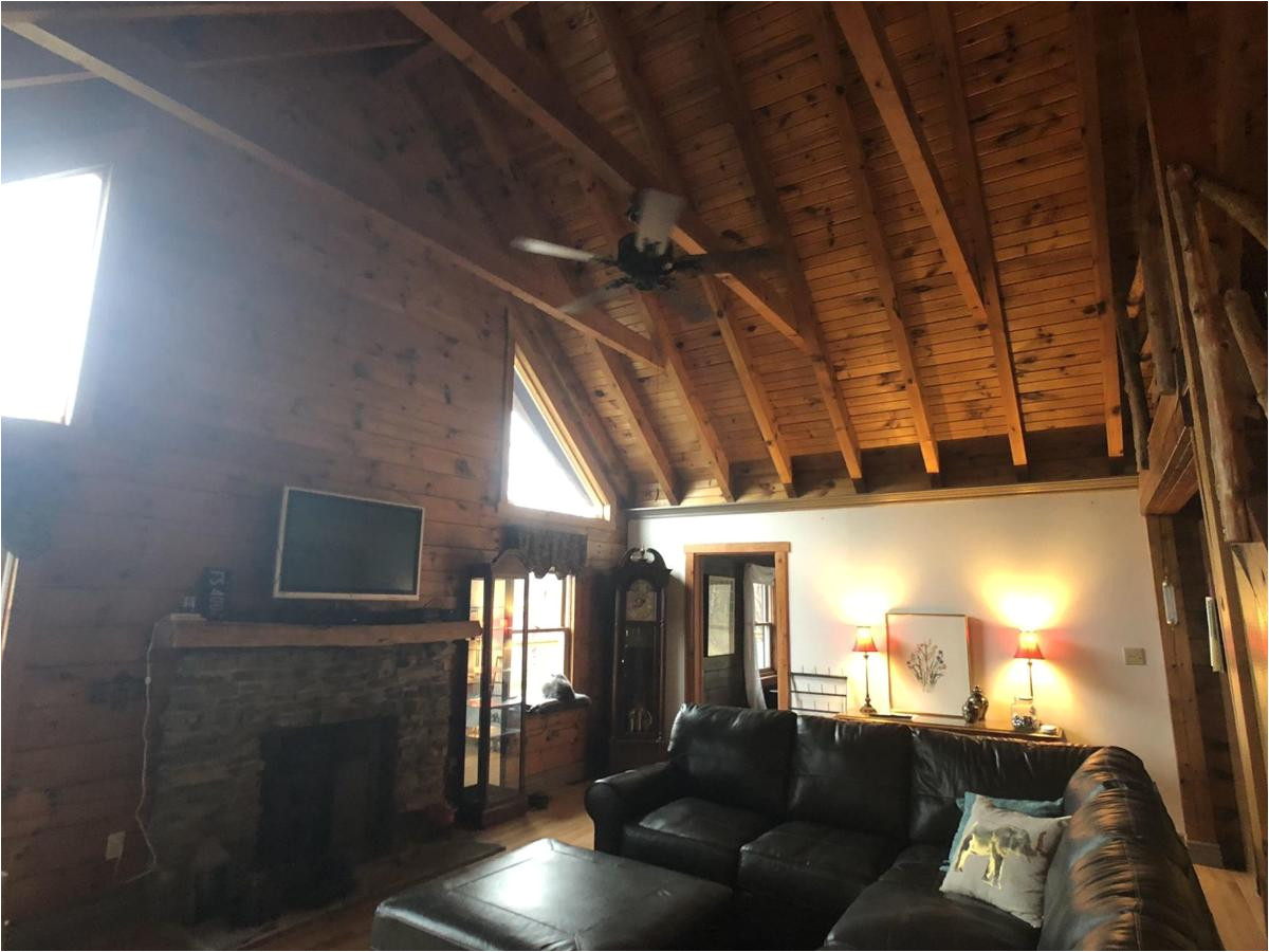 newly updated elkins log home up for auction may 17 wvhomes wvnews com