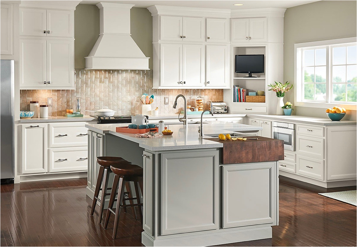 image of a room featuring timberlake cabinetry cabinets