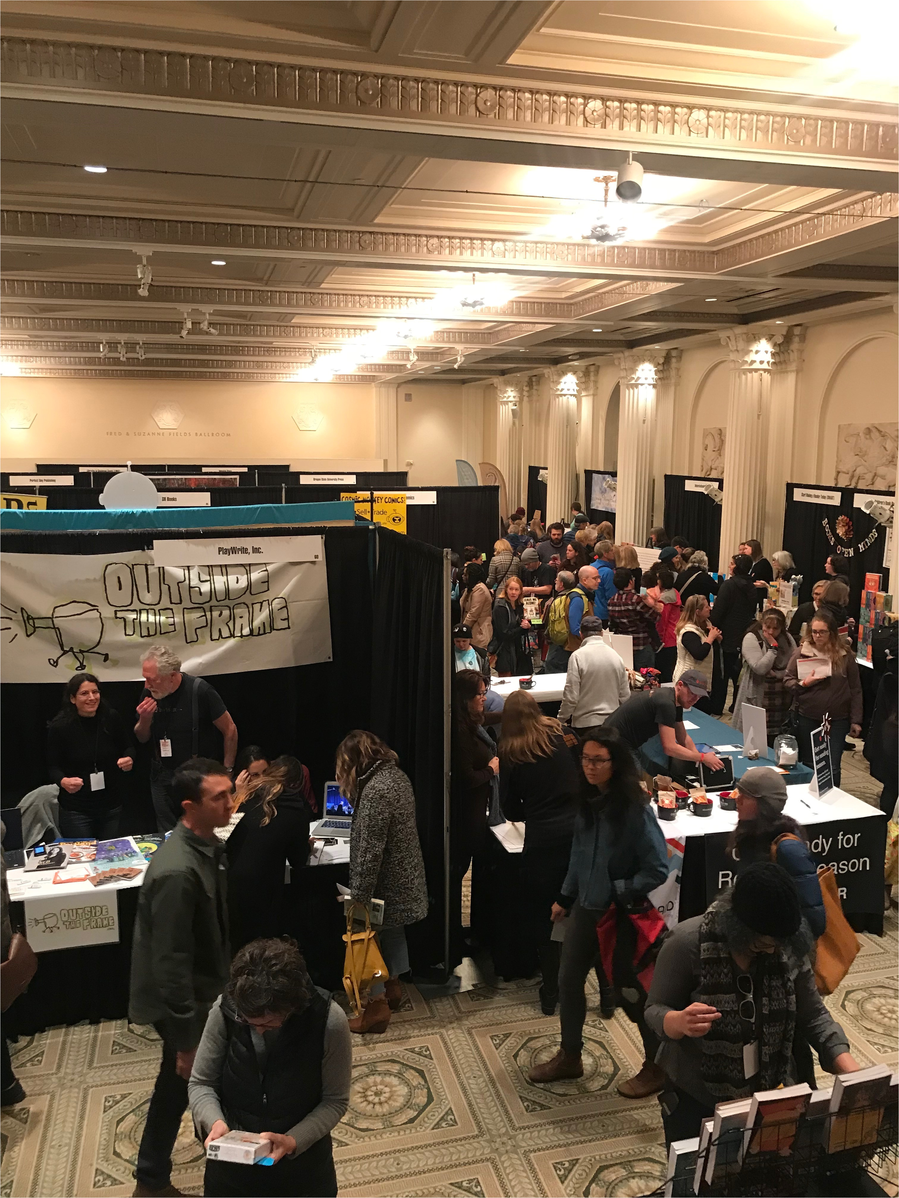 november 10 in downtown portland and featured over 100 authors who shared their work at readings panels and lectures read on to hear about our team