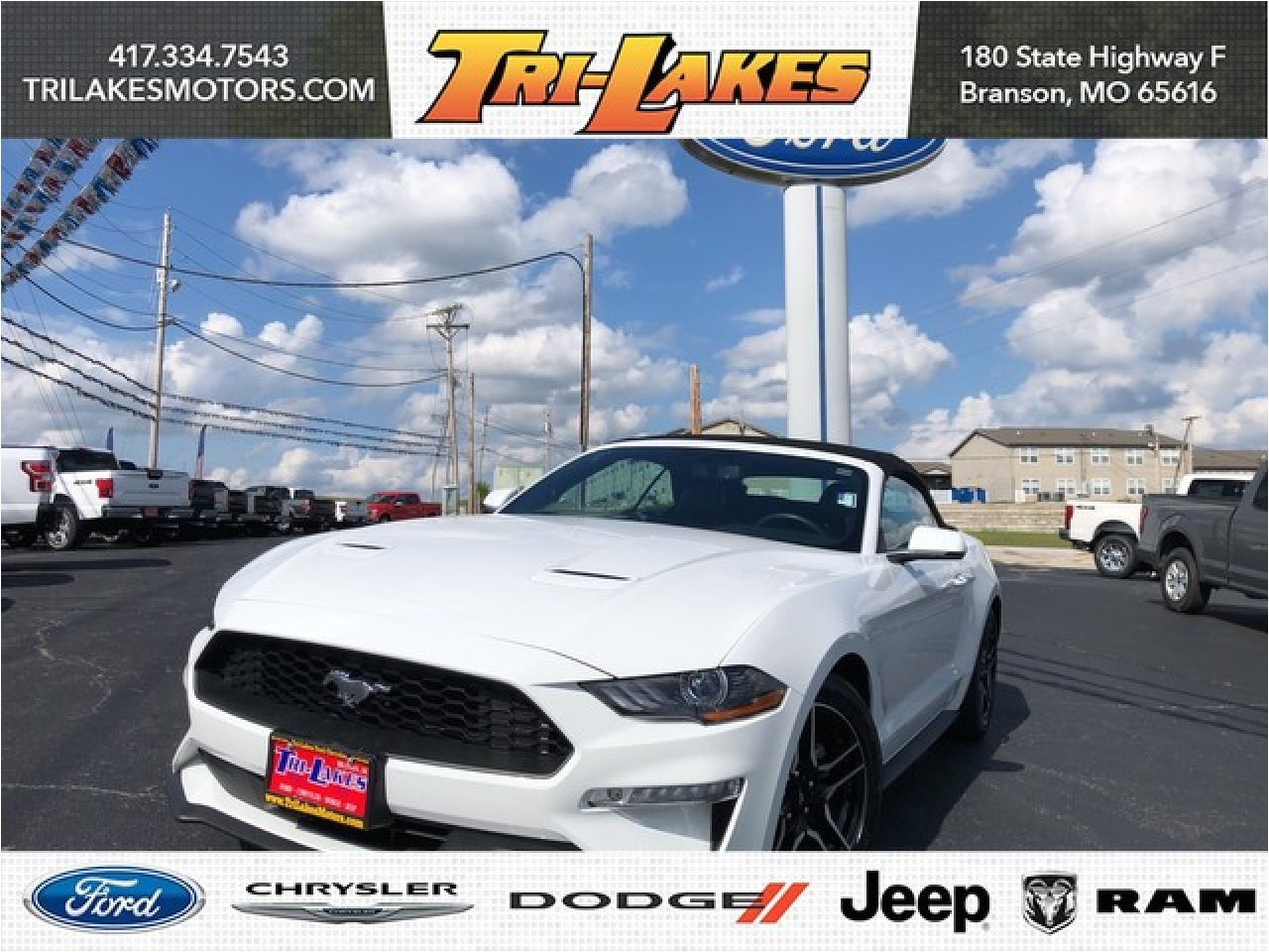 used 2018 ford mustang in branson mo