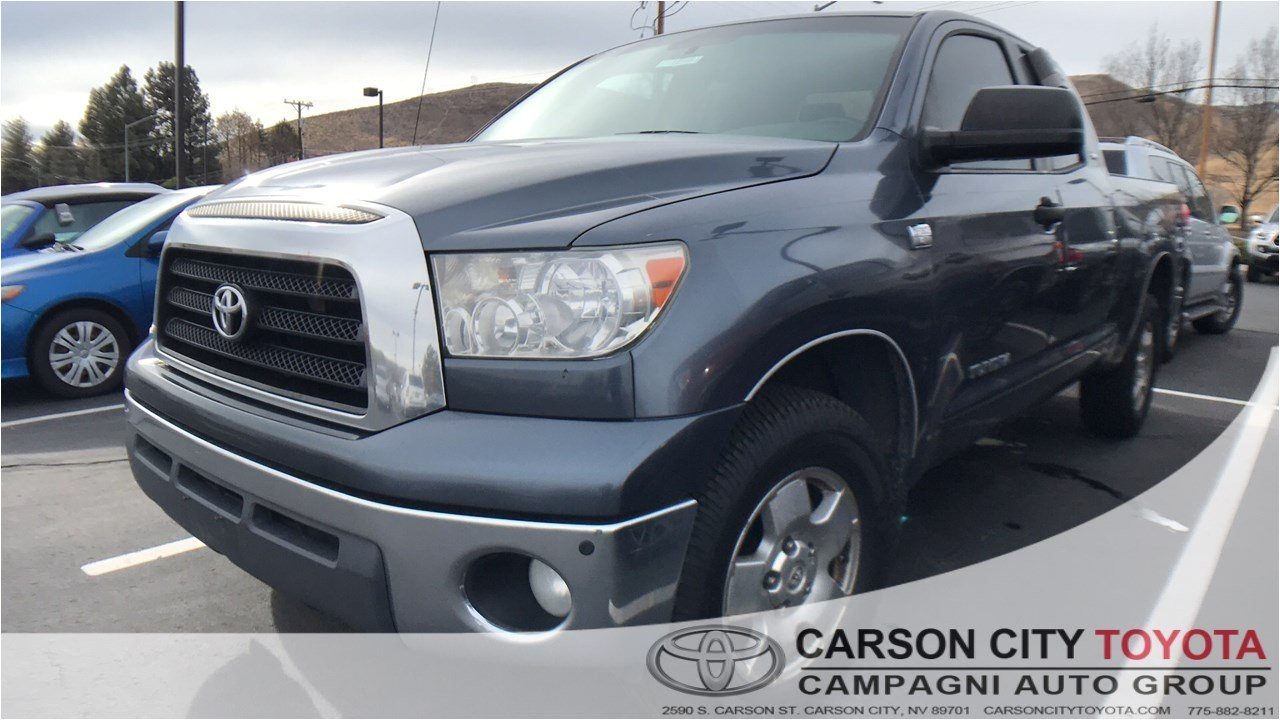 Used Tires and Wheels Carson City Nv Used One Owner 2007 toyota Tundra Sr5 In Carson City Nv Carson