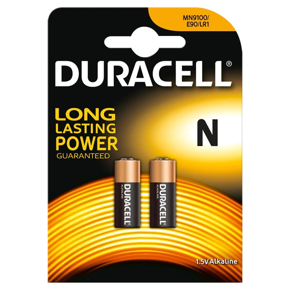 duracell specialty type n alkaline battery pack of 2 amazon co uk office products