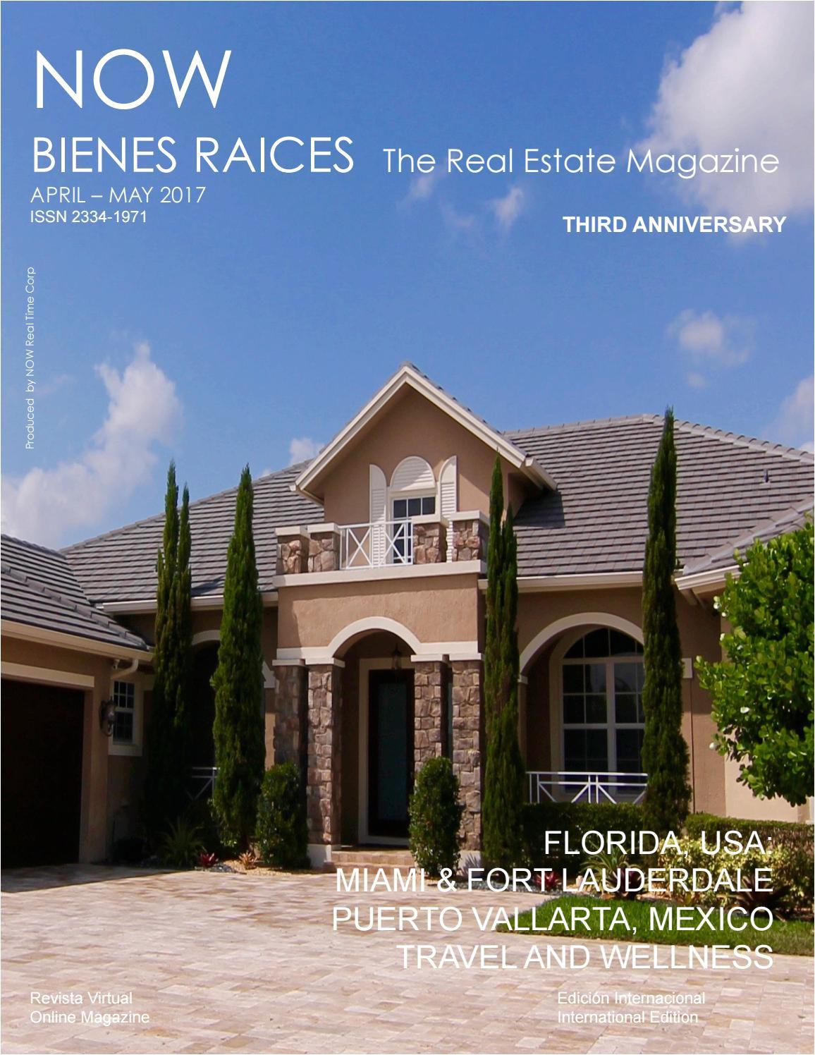 Venta De Casas En Kendall Miami Con Piscina now Bienes Raices May 2017 the Real Estate Magazine by now Real Time