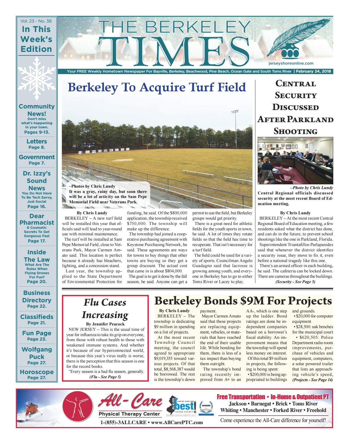 2018 02 24 the berkeley times by micromedia publications jersey shore online issuu
