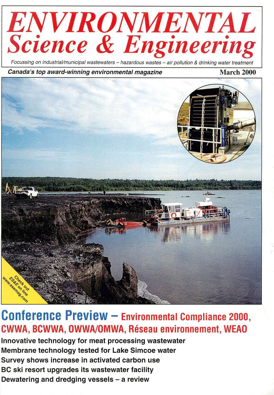 environmental science engineering magazine esemag march 2000 by environmental science and engineering magazine issuu