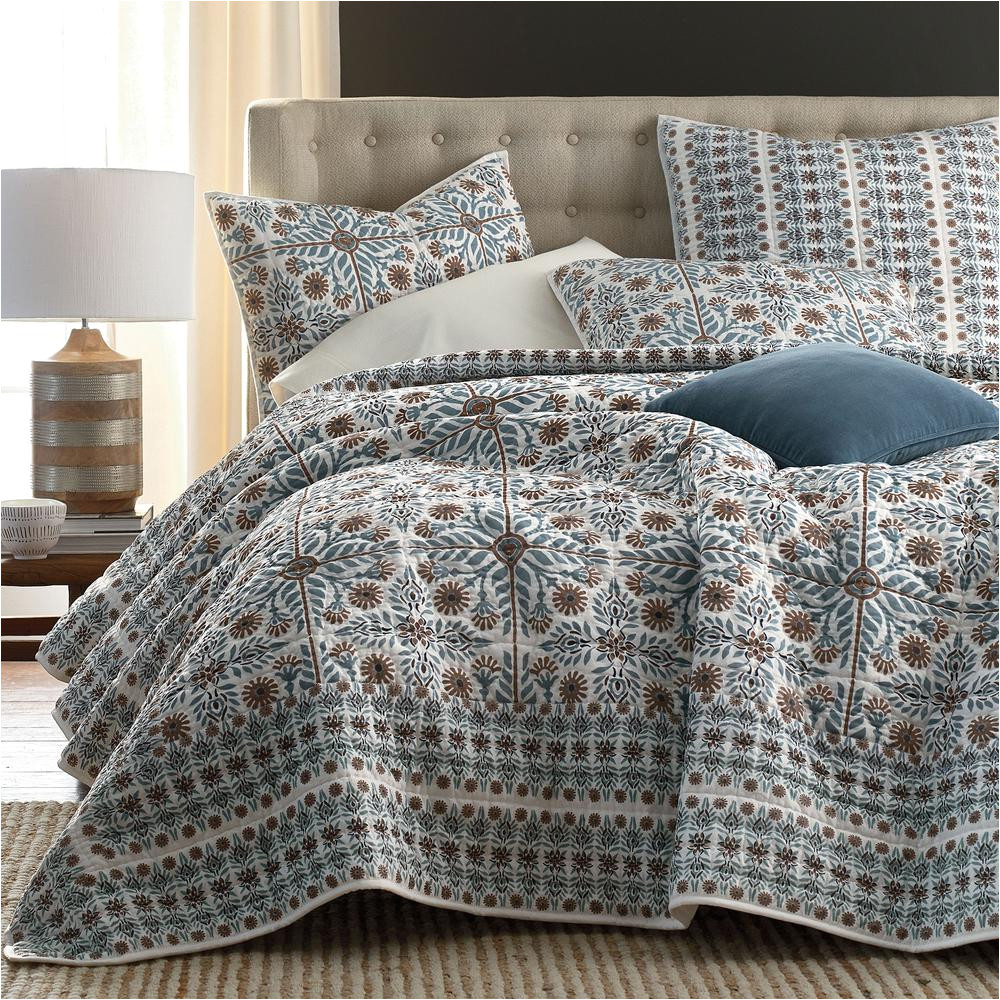 lancaster quilted cotton bedding collection