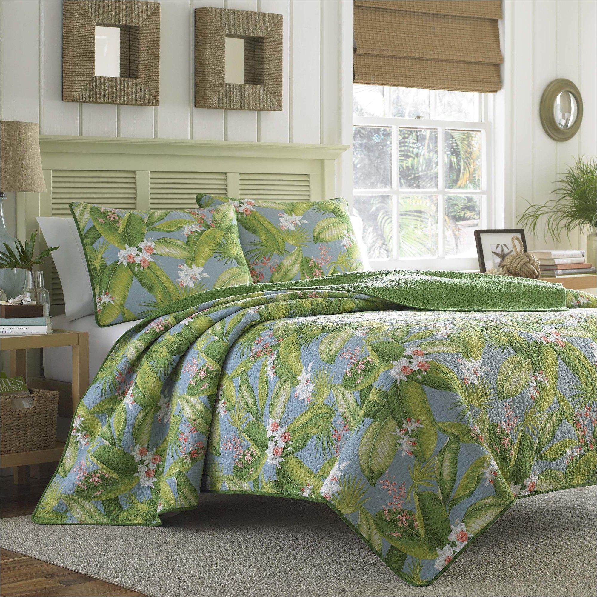 tommy bahama bedding aregada dock reversible quilt set reviews wayfair