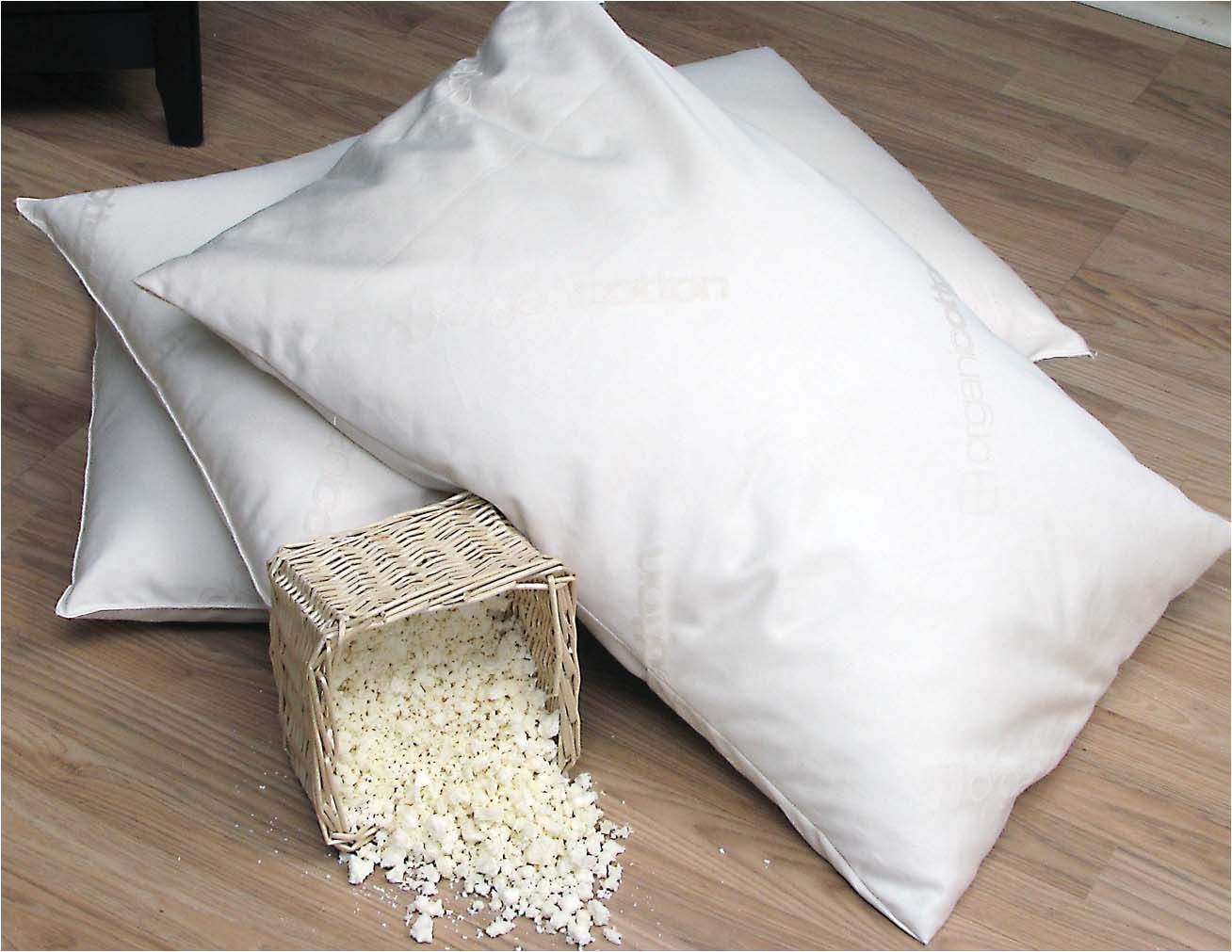 organic lifestyle eco existence shredded natural rubber pillows feel like down