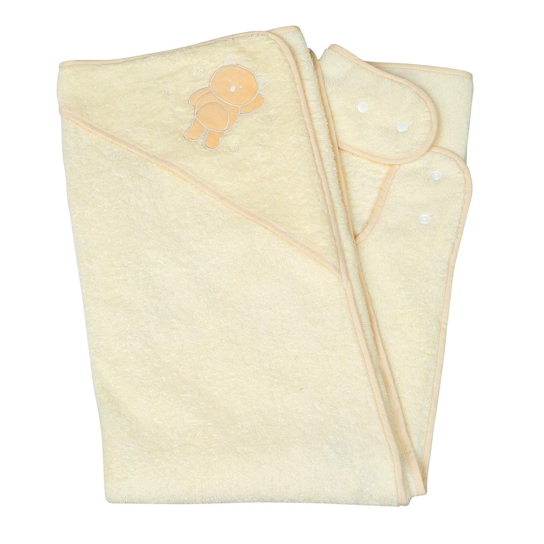 amazon com clevamama splash and wrap baby bath towel hood cream hooded baby bath towels baby