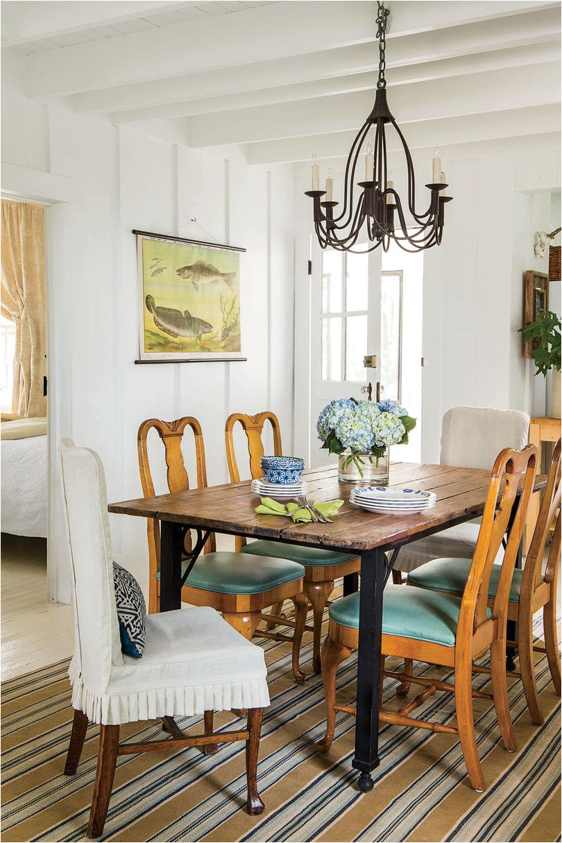 rx 1606 iron and wood dining room