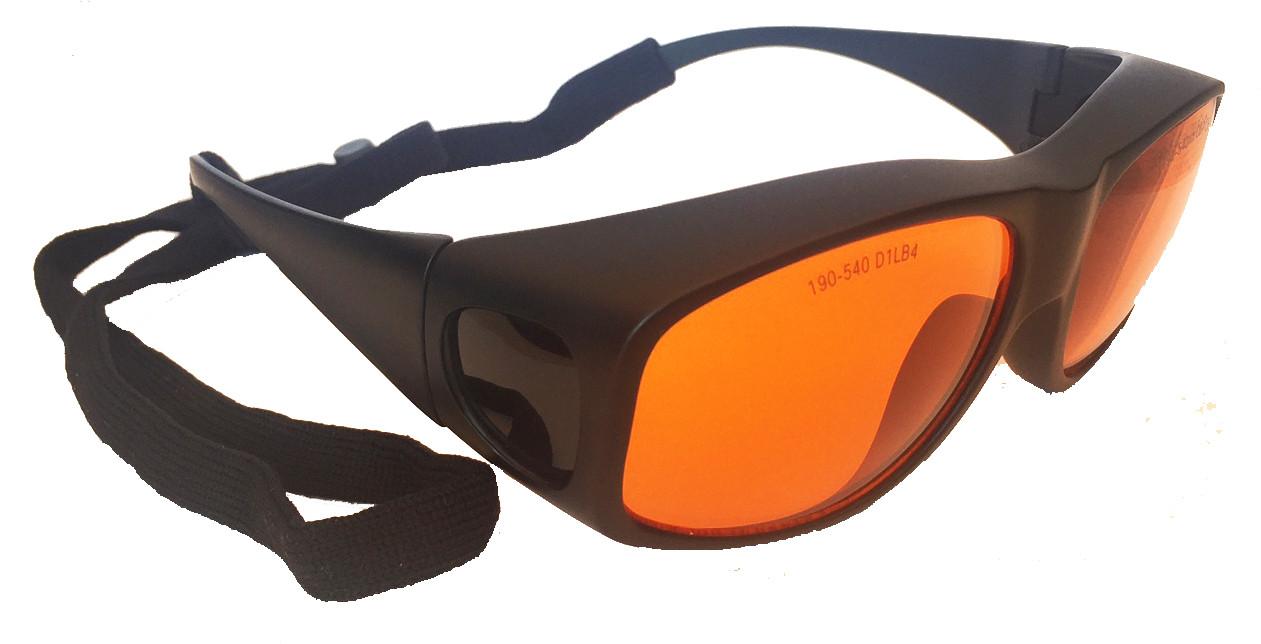 lg 005l 532nm od 4 laser safety glasses