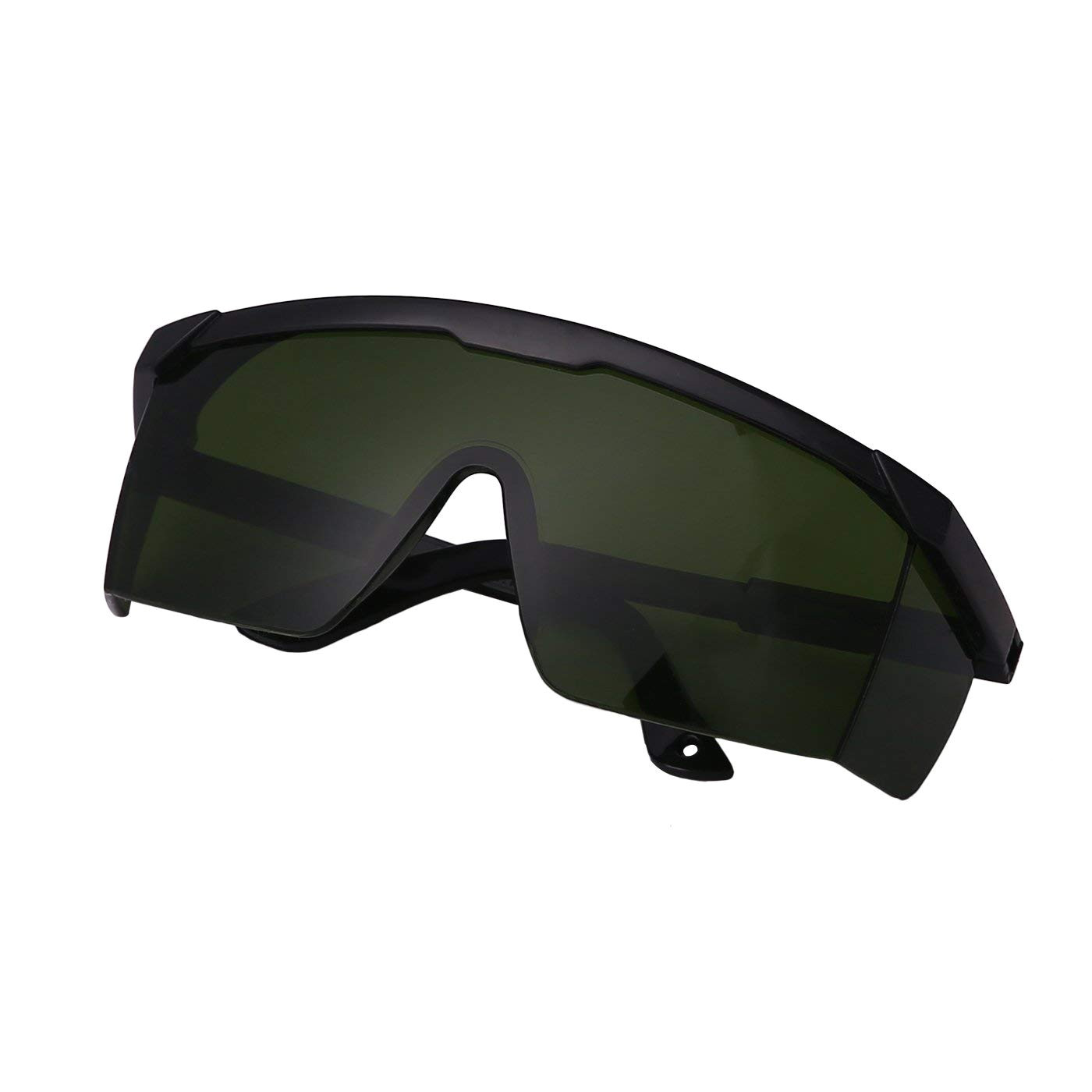 hde laser eye protection safety glasses for green and blue lasers with case green amazon ca sports outdoors