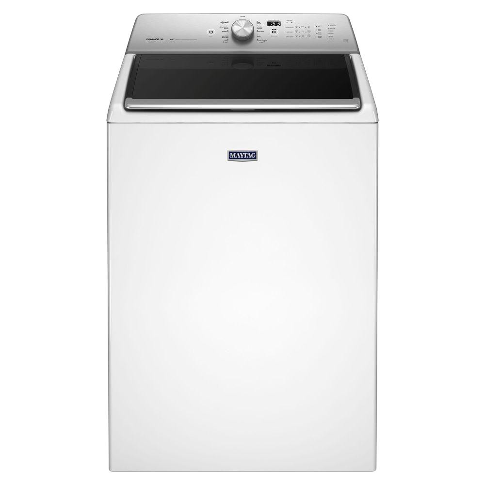 5 3 cu ft high efficiency white top load washing machine with deep clean