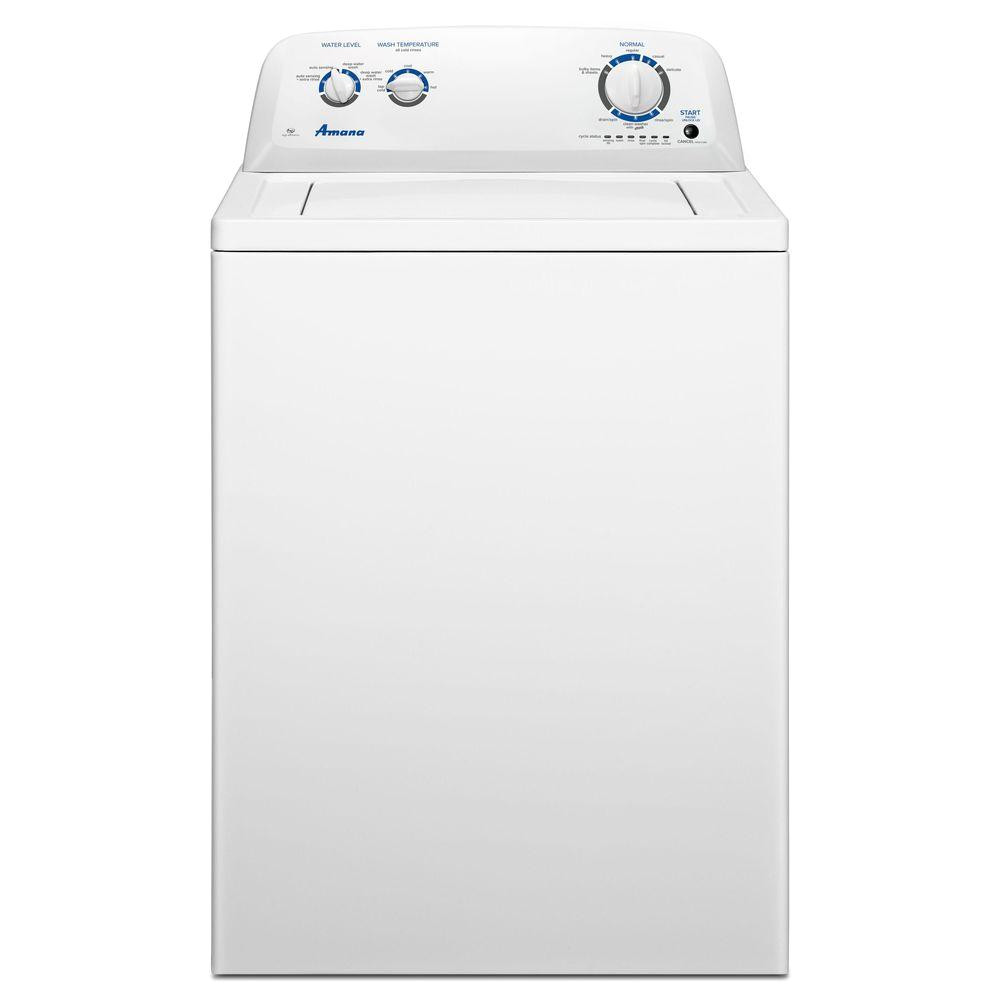 top load washer in white