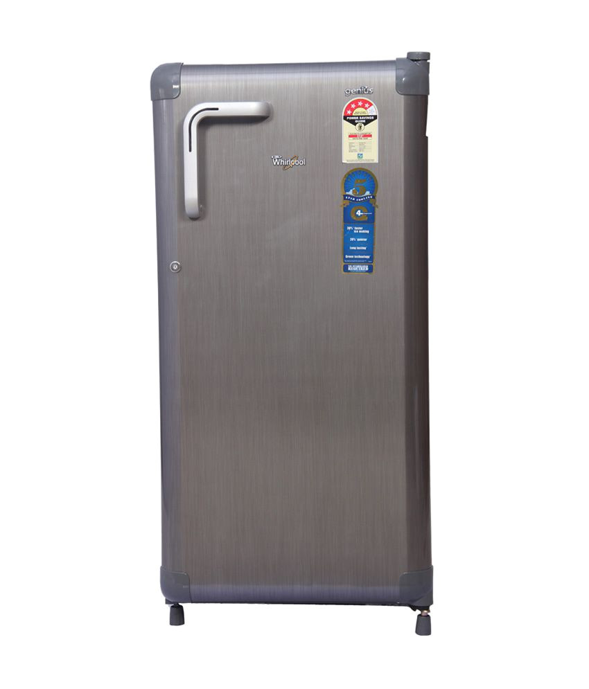 whirlpool 180 ltr 195 genius cls plus hc 4s single door refrigerator titanium