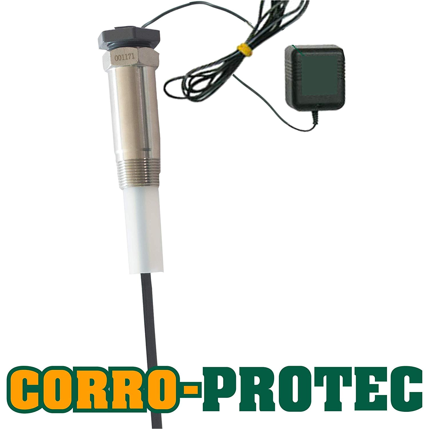 corro protec cp r titanium powered anode rod for water heater 40 80 gal tank amazon com