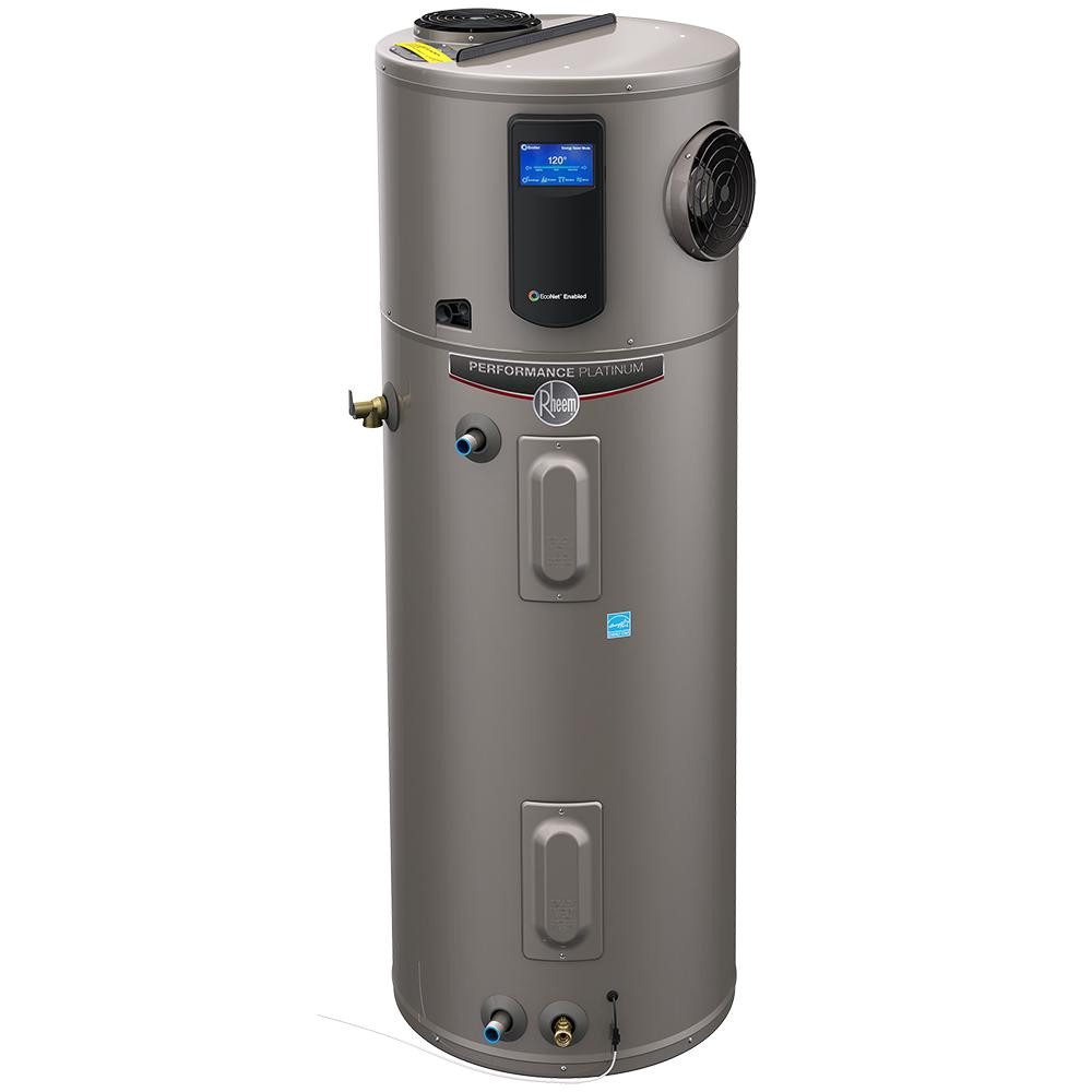 10 year hybrid high efficiency electric tank water heater
