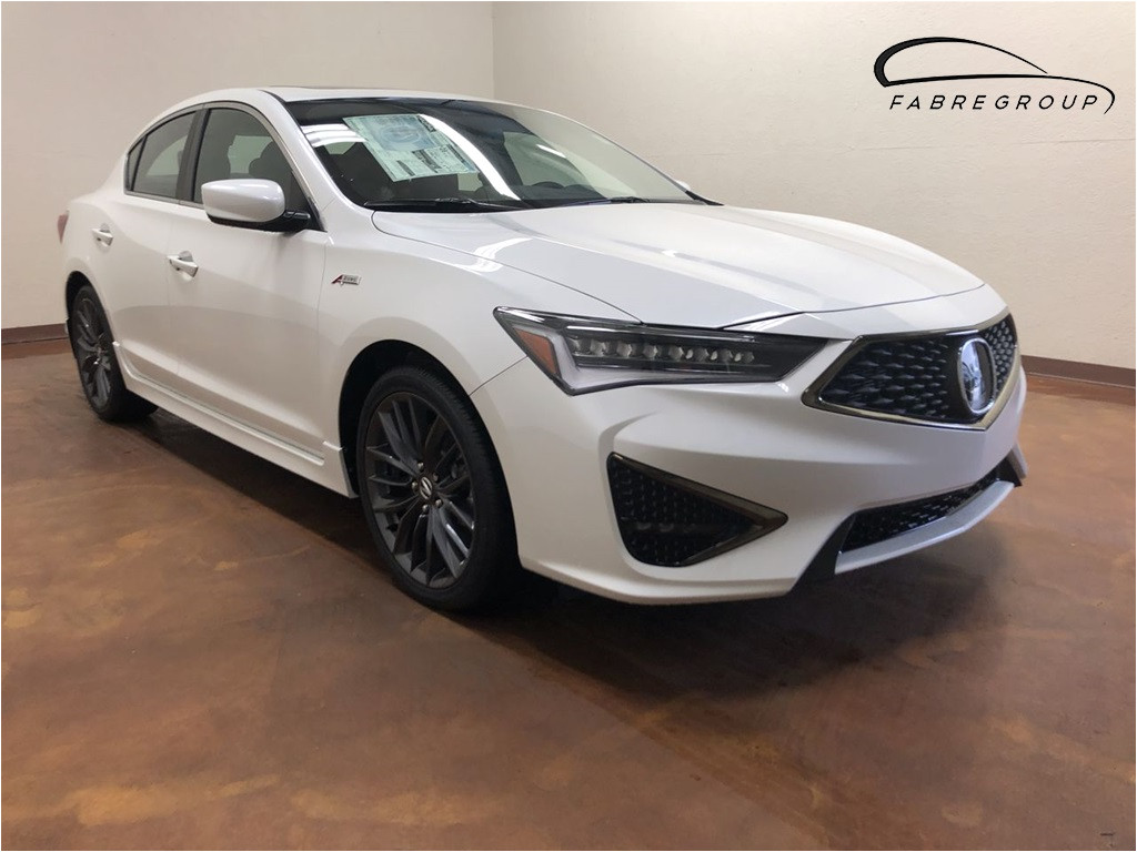 new 2019 acura ilx with technology and a spec packages