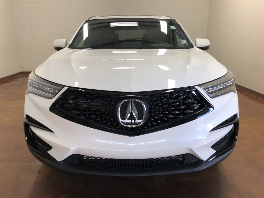 new 2019 acura rdx with a spec package